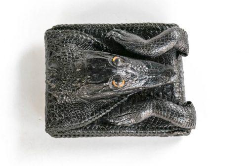 Ví da cá sấu nguyên con VD-ZN005