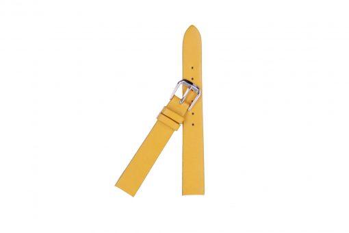 Dây đồng hồ da bò màu vàng nghệ – ZNB004