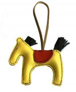ngựa handmade móc túi xách
